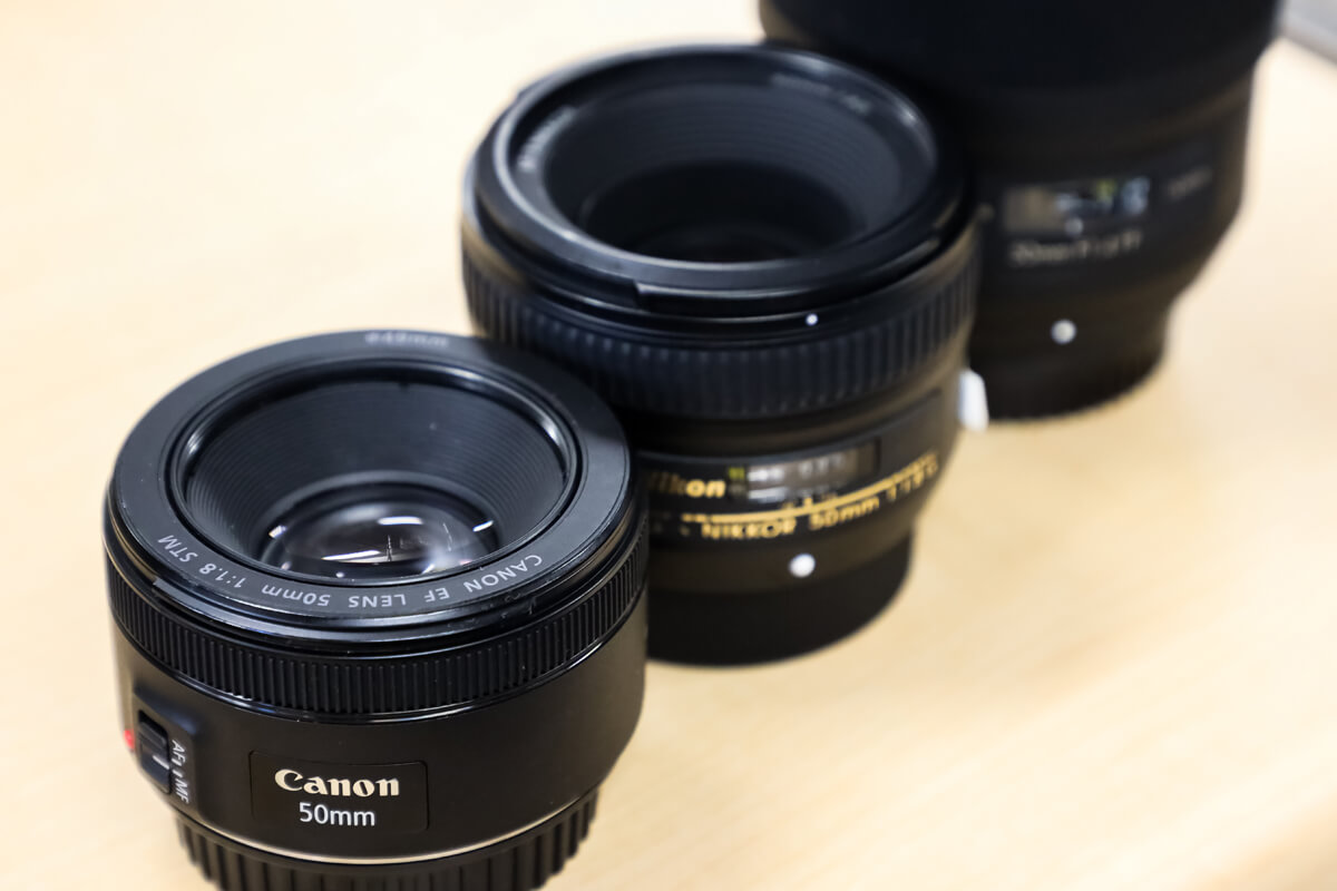 50mm単焦点レンズ厳選おすすめ6モデル。はじめての単焦点に最適の定番モデルをご紹介