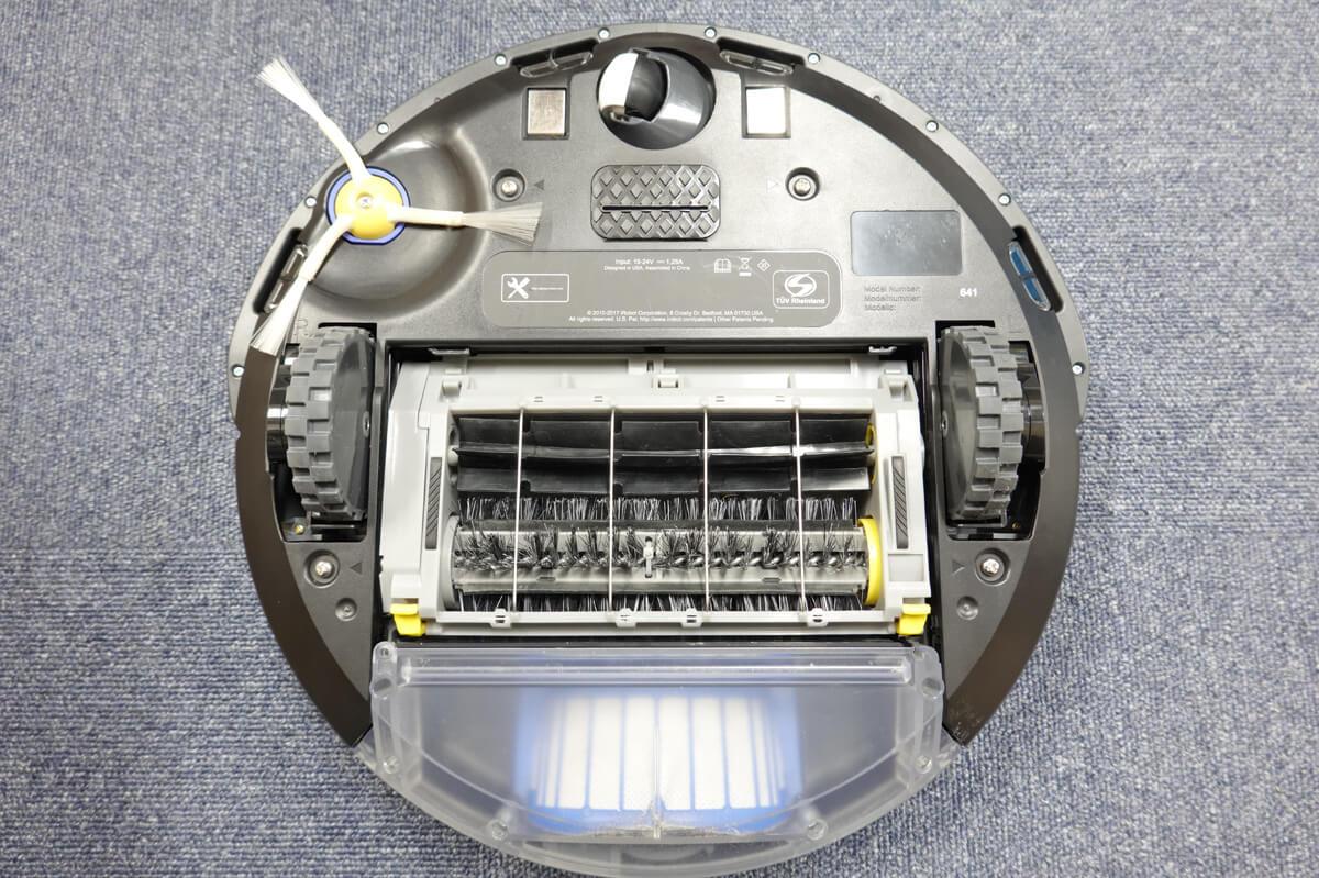 iRobotルンバ 671の特徴 ベーシックなお掃除機能「3段階クリーニングシステム」