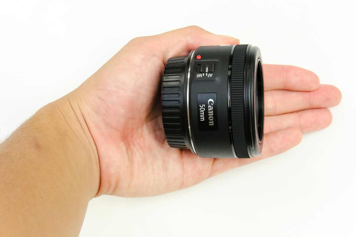 50mm 単焦点レンズ 小型軽量