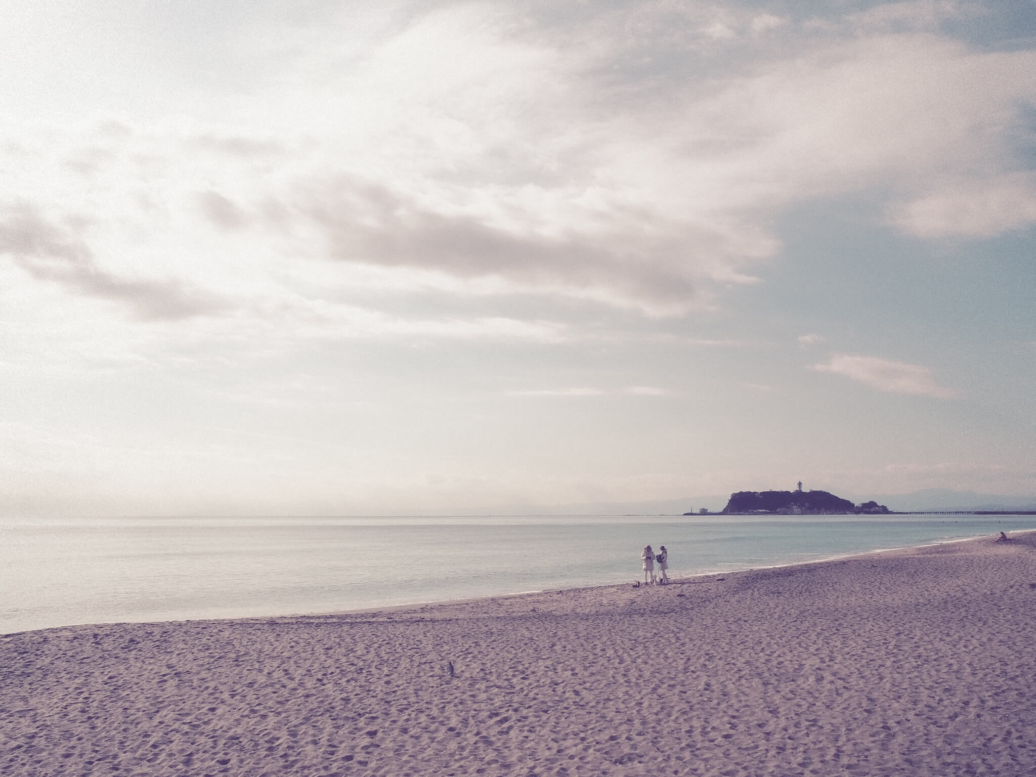 七里ガ浜 撮影