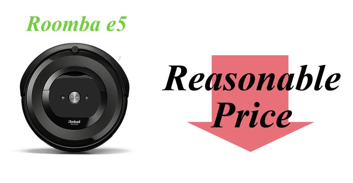 ルンバe5はなぜ安い?