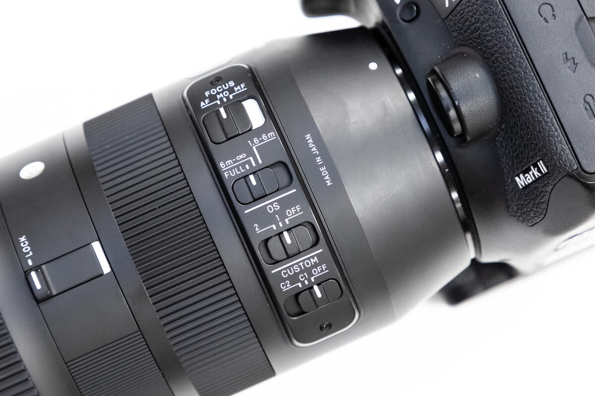 SIGMA 100-400mm F5-6.3 DG OS HSM 手ブレ補正