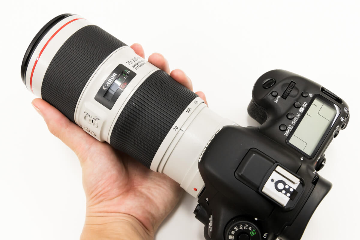 EF70-200mm F4L IS II USM 小型軽量
