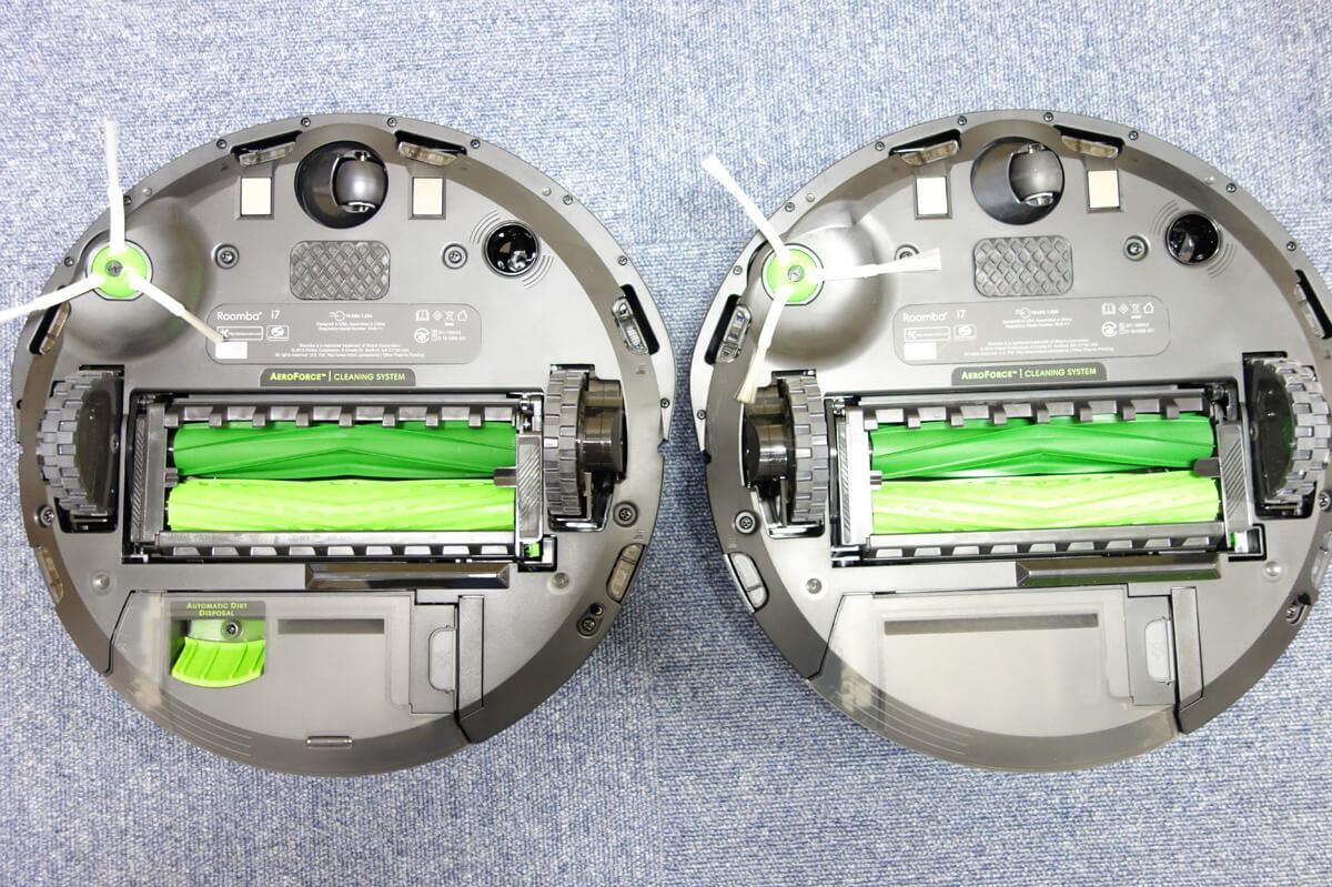ルンバi7とi7+の違いは「自動ゴミ捨て」のみ