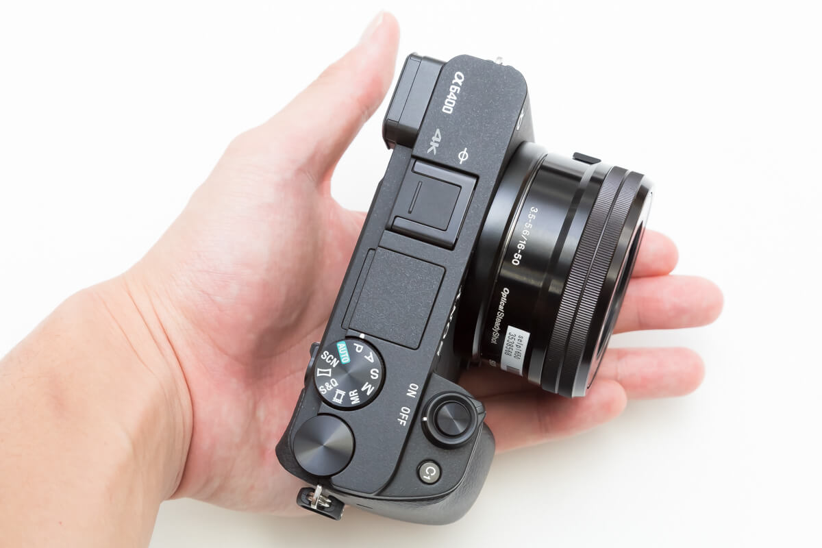 SONY α6400 小型軽量