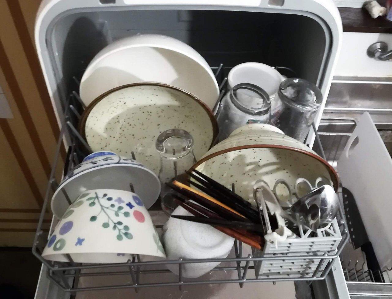 工事不要食洗機 ジェイム SDW-J5L-W