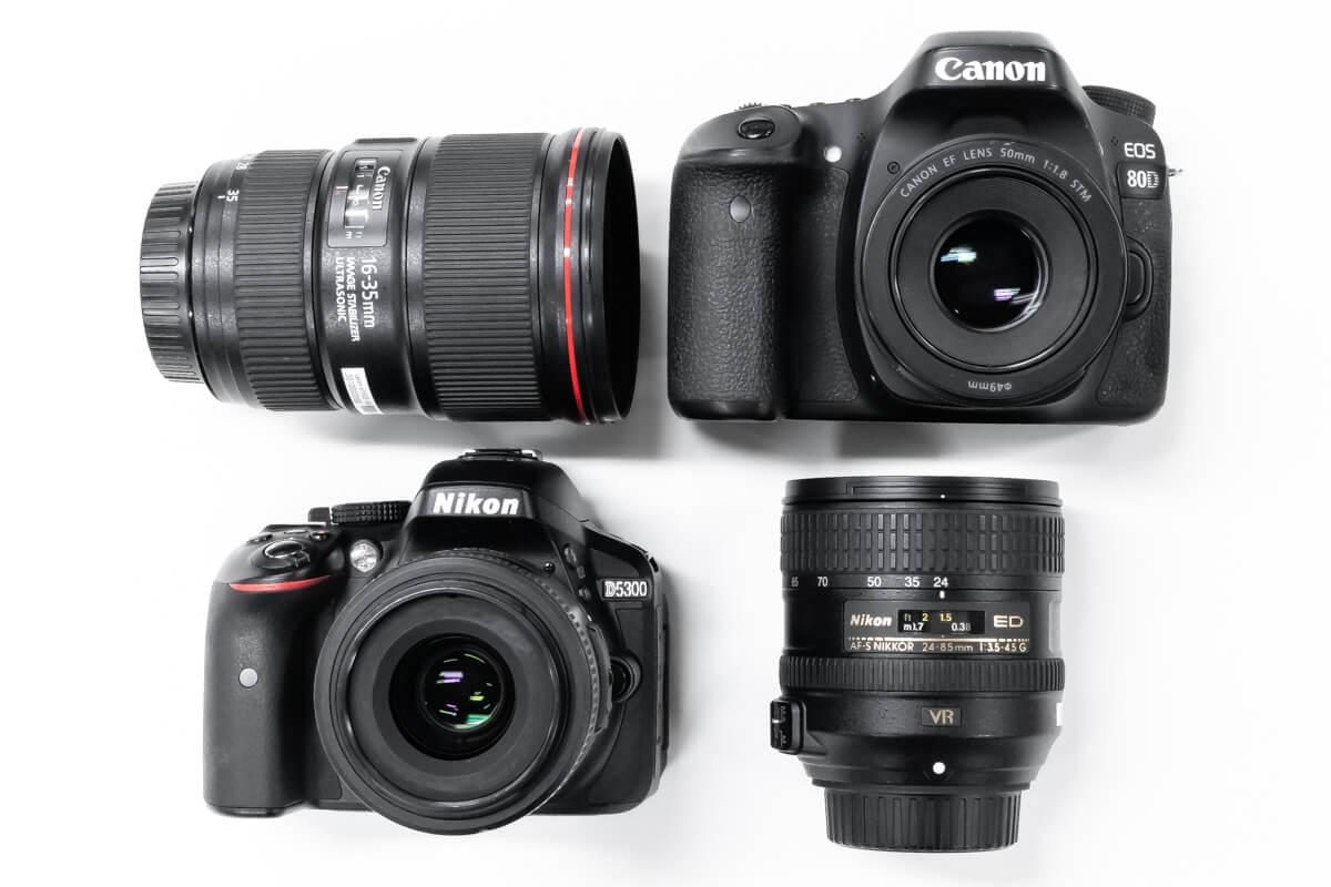 Canon Nikon 違い 比較
