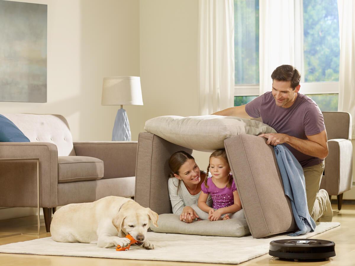 犬のいる家庭でルンバを使うメリットと悲しい事故を防ぐための注意点