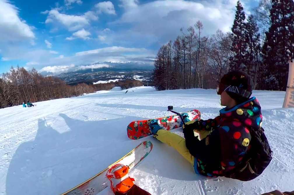 スキー・スノボで注意すべきGoProの撮影方法
