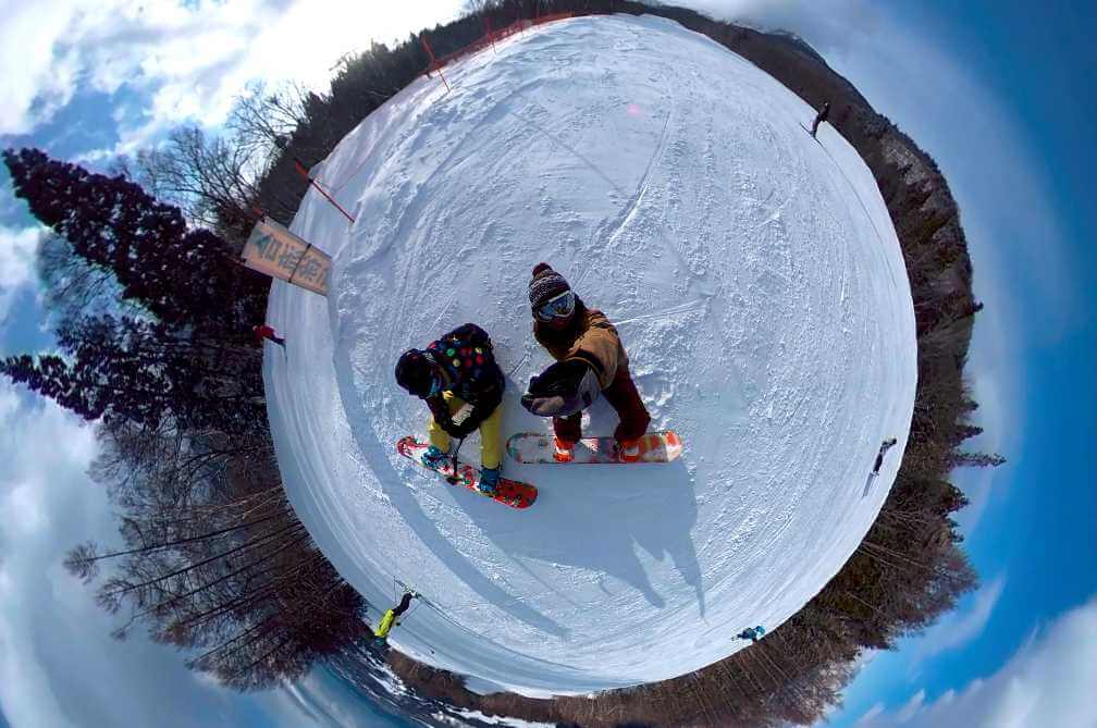 """360度カメラ""""THETA""""と""""insta360""""をスキー・スノボで使う注意点!失敗と反省から学ぼう"""