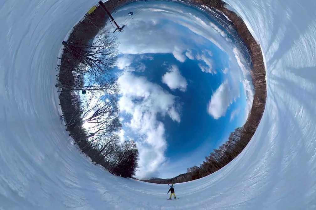 360度カメラはしっかり準備してゲレンデに連れて行こう