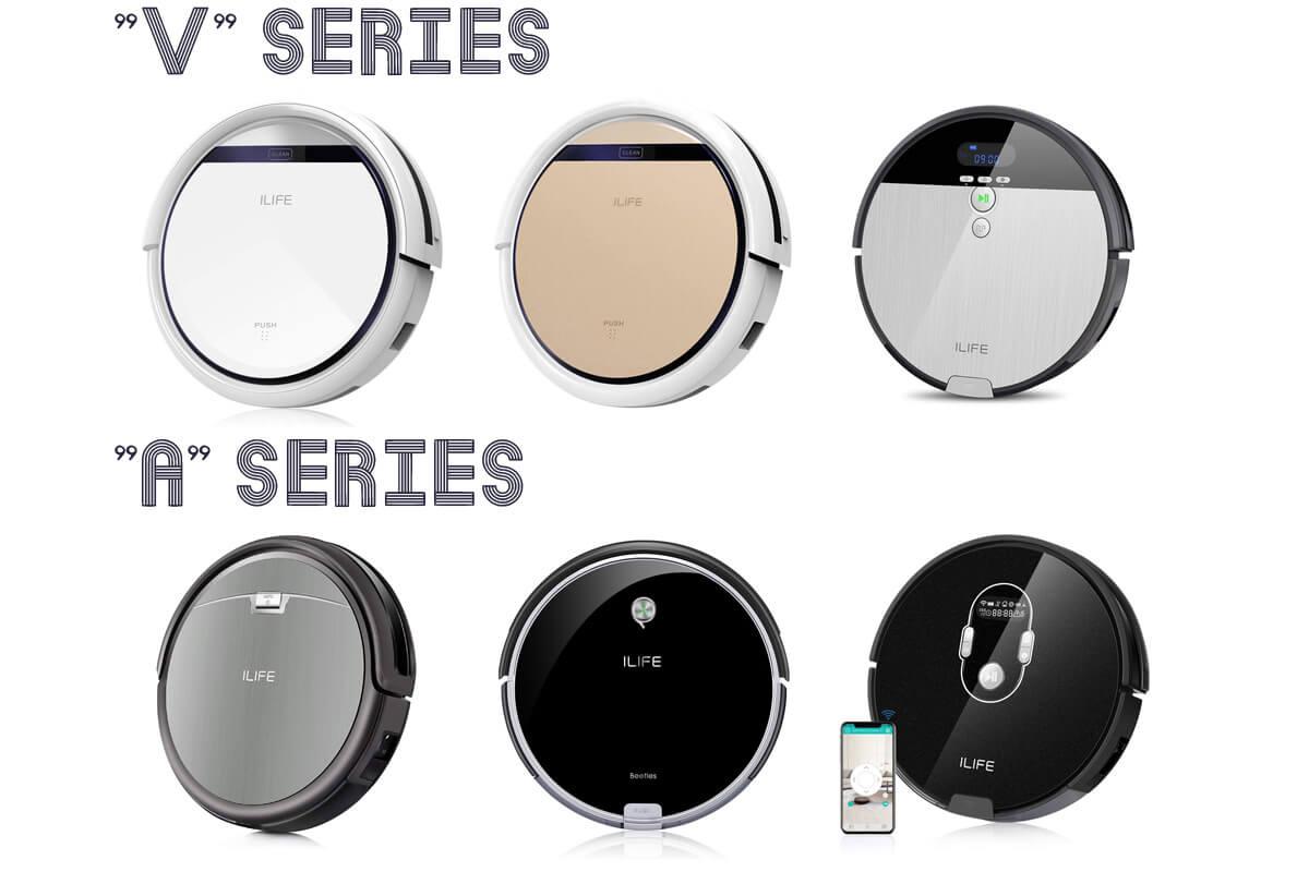 ILIFE(アイライフ)のロボット掃除機を一覧表で比較