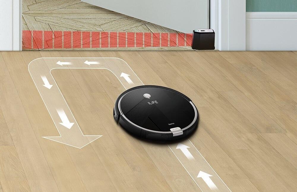 ILIFE(アイライフ)ロボット掃除機の選び方 5. 進入禁止エリアの設定