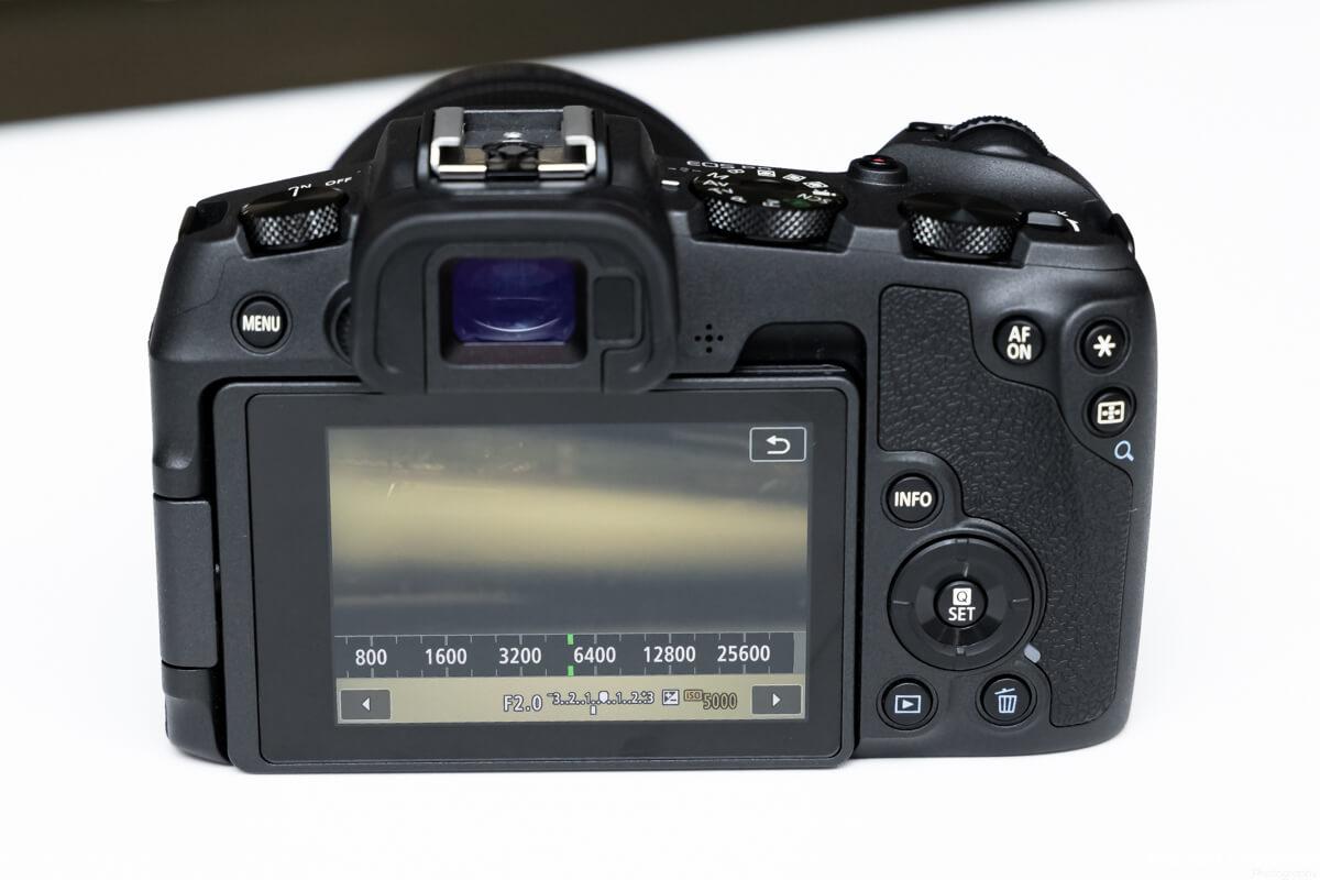 EOS RP 高感度撮影