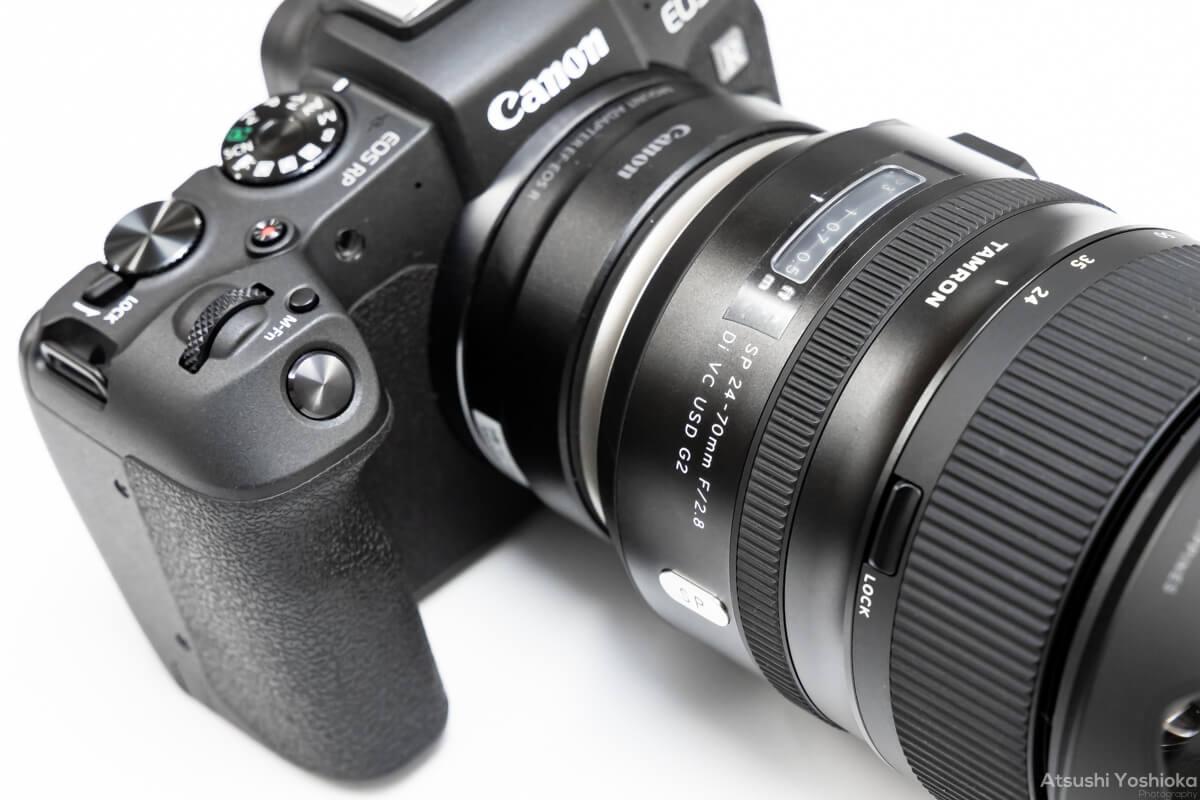 TAMRON SP 24-70mm F/2.8 Di VC USD G2 レビュー