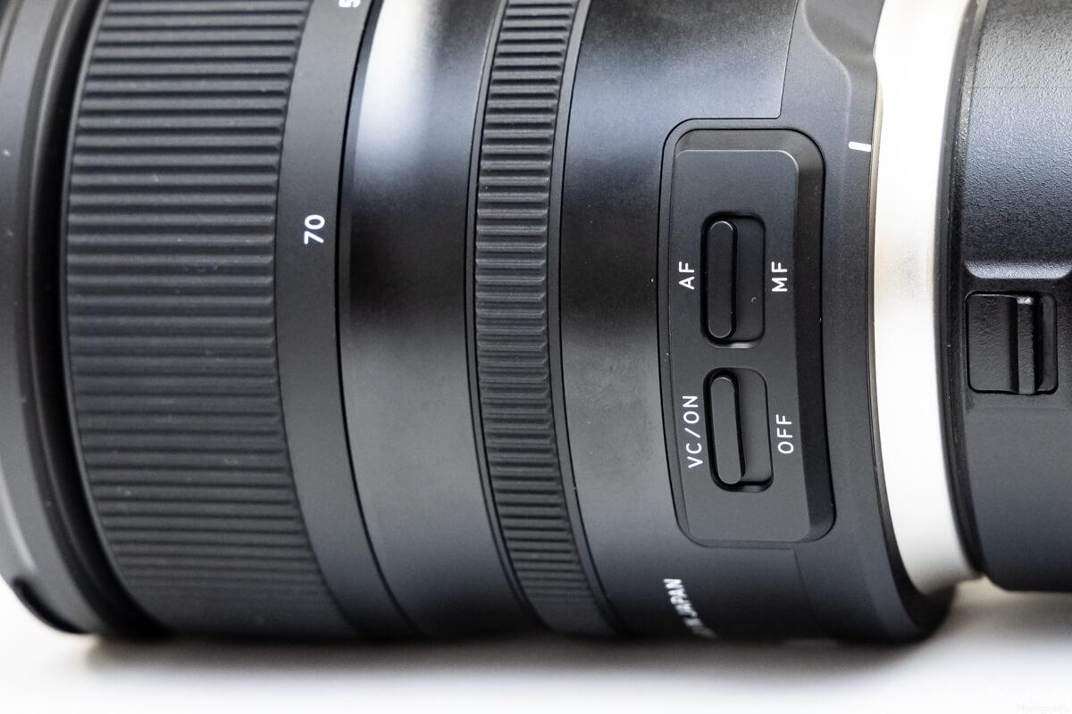 TAMRON SP 24-70mm F/2.8 Di VC USD G2 手ブレ補正