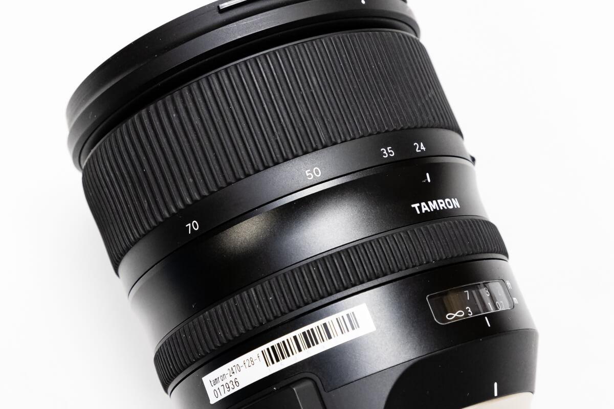 TAMRON SP 24-70mm F/2.8 Di VC USD G2 焦点距離幅
