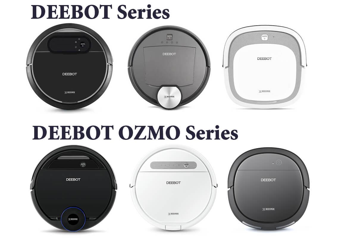 エコバックス DEEBOTのロボット掃除機を一覧表で比較