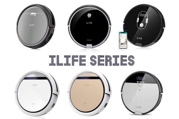 ILIFE(アイライフ)ロボット掃除機 新旧全12種を一覧表で比較!おすすめと選び方を紹介
