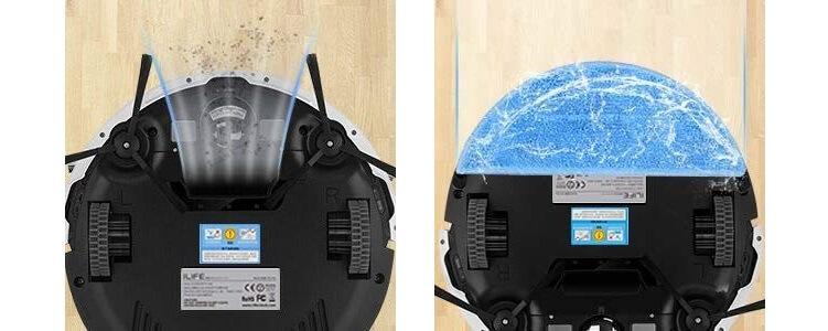 ILIFE(アイライフ)ロボット掃除機の選び方 1. 吸引のみ?水拭きも可能?