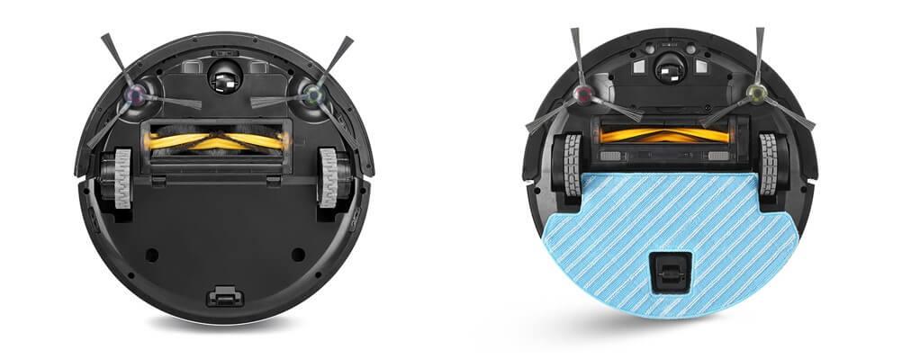 エコバックス DEEBOTロボット掃除機の選び方 1. 吸引のみ?水拭きも可能?