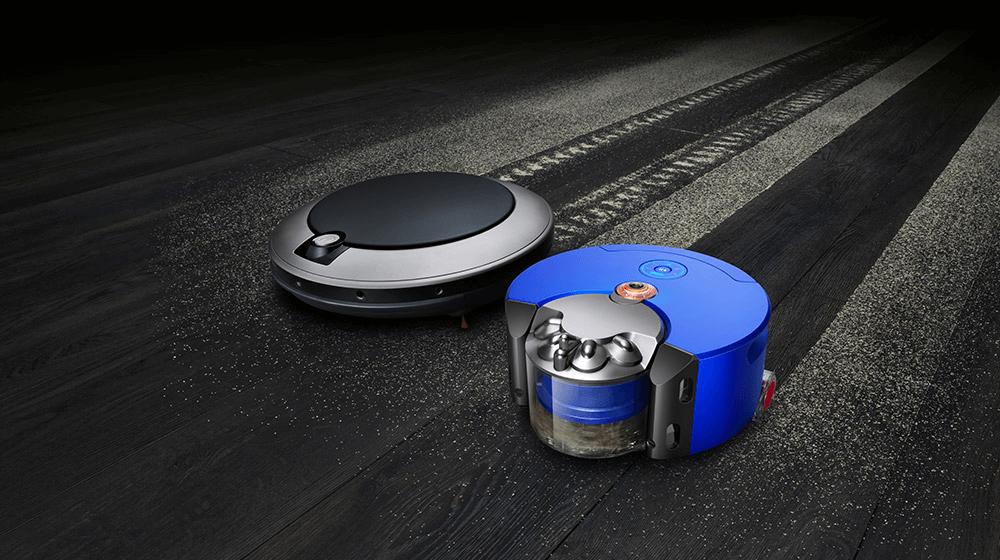 「Dyson 360 Heurist」の5つの特長 1. 吸引力4倍で優れた清掃力