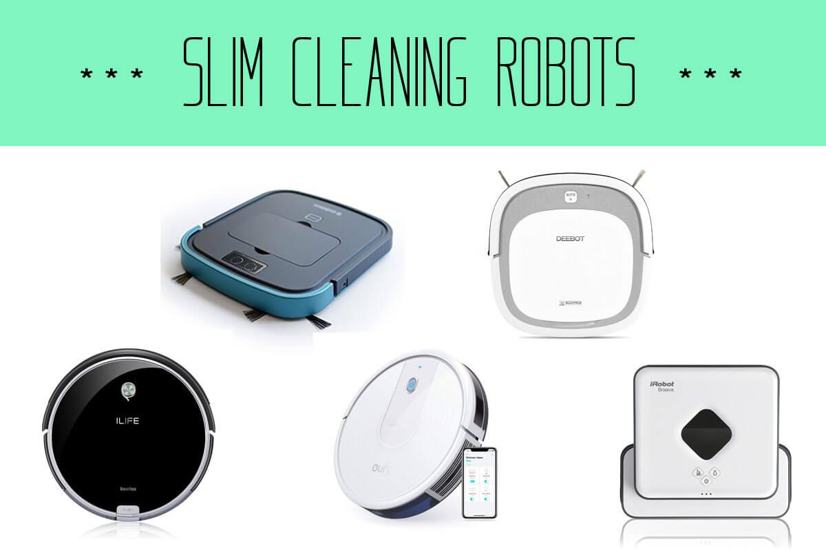 薄型ロボット掃除機おすすめ5機種と選び方!薄さNO1で低い家具でもスイスイなのは?