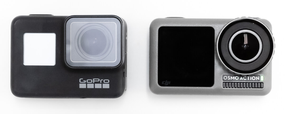 Osmo Action GoPro 大きさ 比較