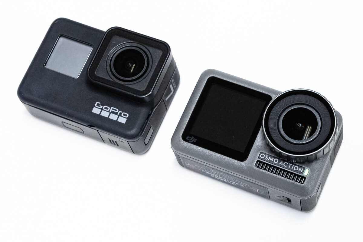 Osmo Action GoPro 比較