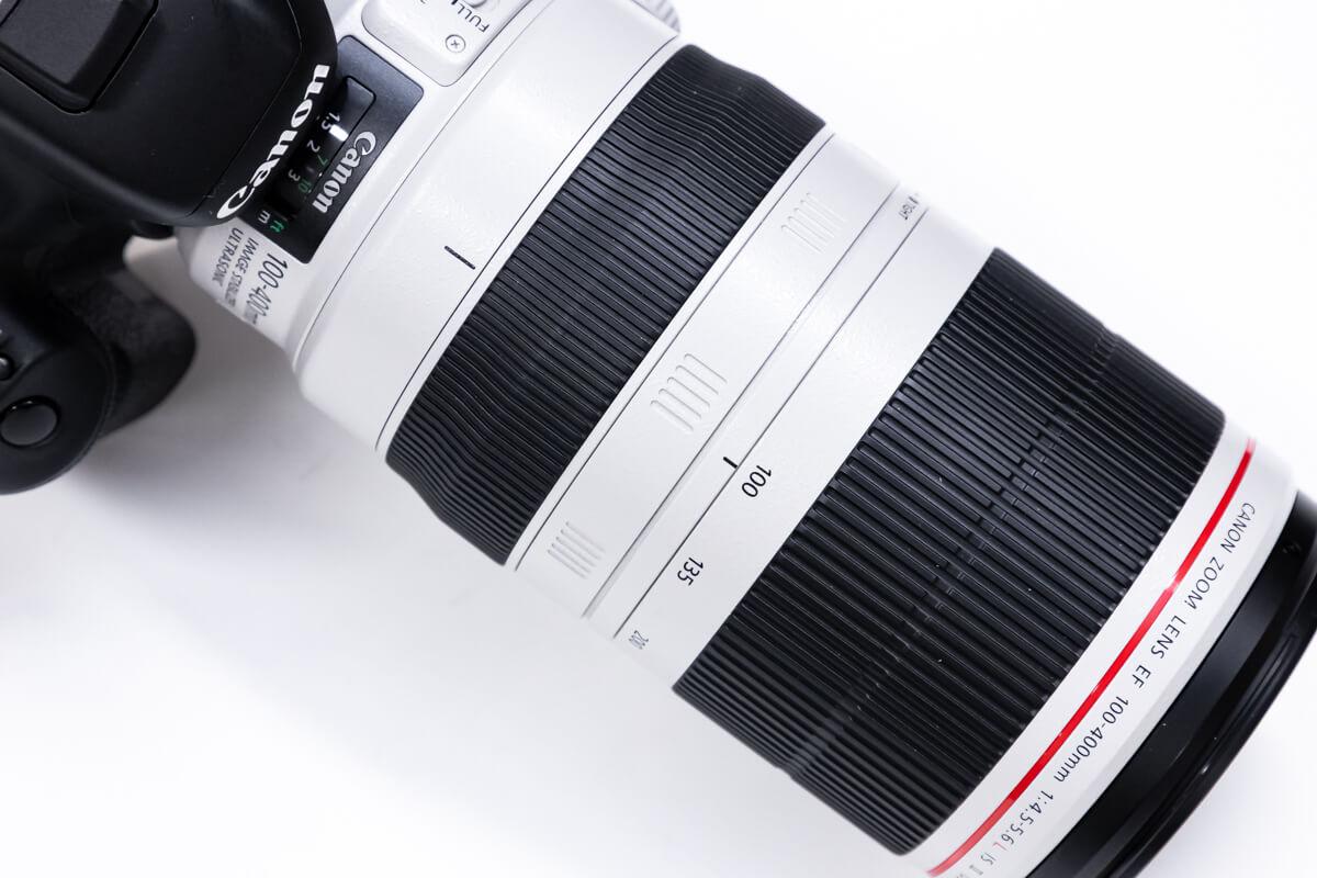 EF100-400mm F4.5-5.6L IS II USM 白レンズ