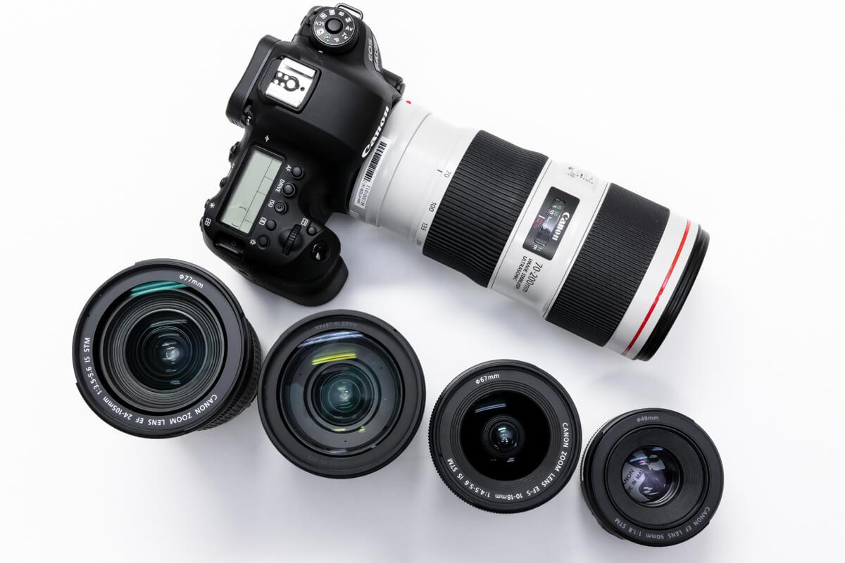 [最新]Canon(キヤノン)おすすめレンズ10選。まずは揃えておきたいレンズを性能と価格から徹底紹介