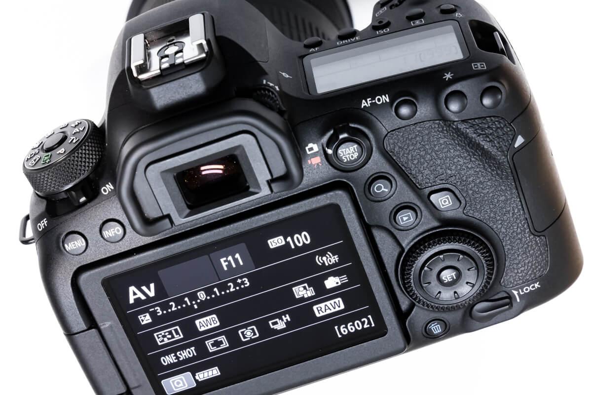 EOS 6D Mark II シンプル ボタン配置
