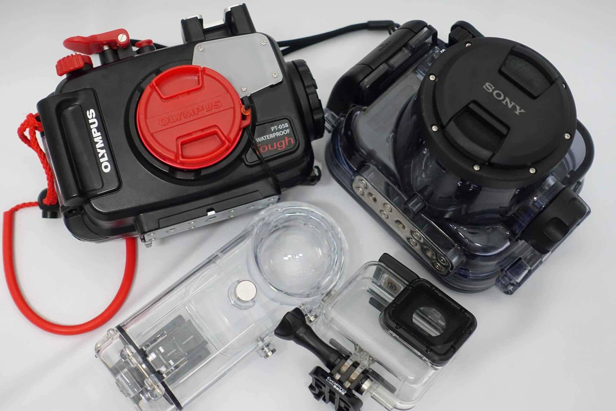 360度カメラからコンデジまで!おすすめ防水ハウジング4機種を徹底レビュー