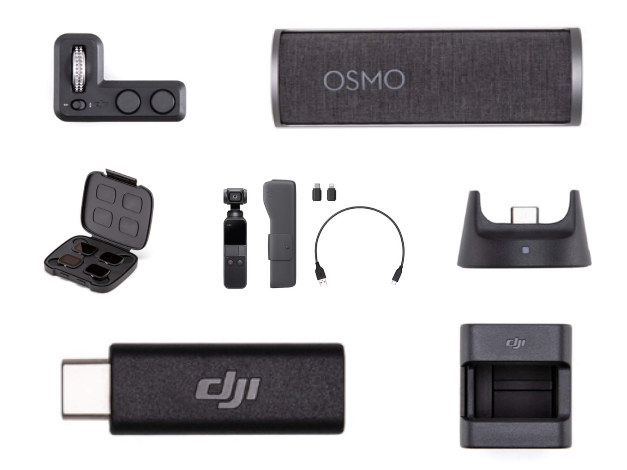 DJI Osmo Pocketを最大限に楽しむためのおすすめアクセサリー7選!純正品を選ぶべき理由とは