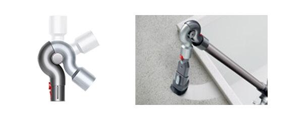 ダイソン掃除機のアタッチメント アップトップアダプター