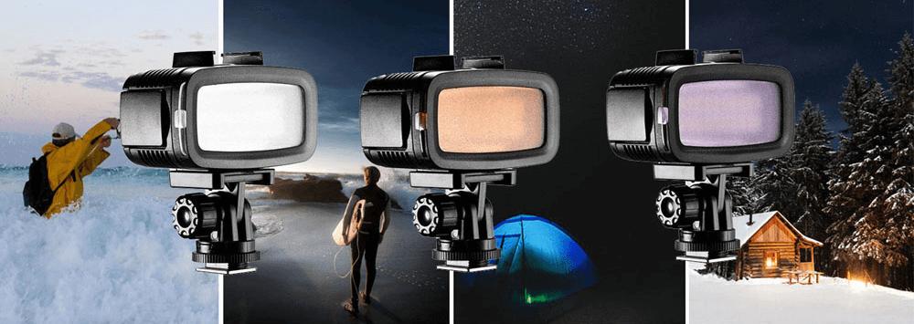 「LPL LEDライトウォーターアクションVL-580C」レビュー!GoProや防水カメラに使える水中ライト