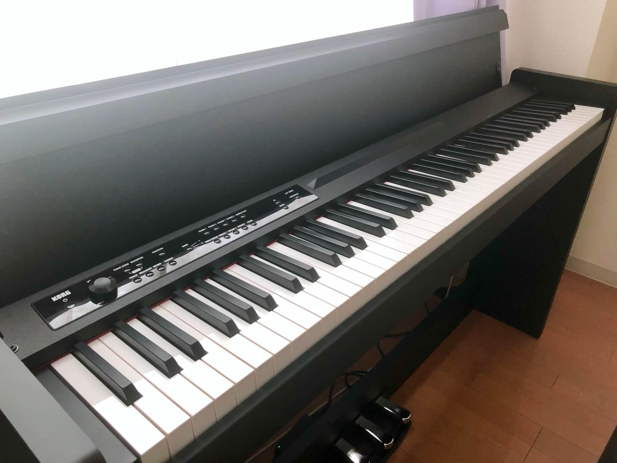 コスパ最強の電子ピアノ「コルグ KORG LP-380」徹底レビュー。Amazon人気商品のその実力は!?