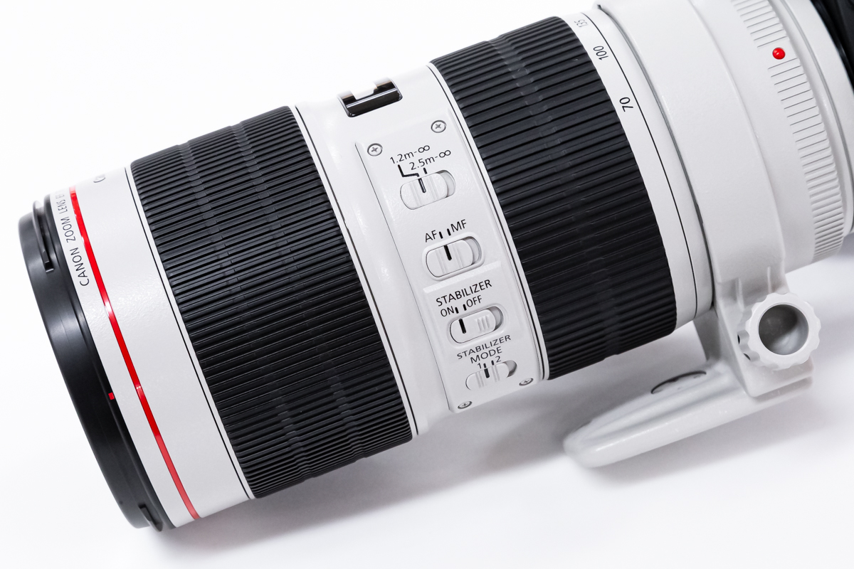 EF70-200mm F2.8L IS III USM デザイン