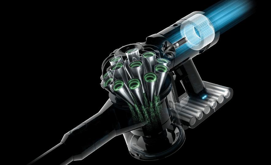 ダイソン V8 スリムの特長 排気もキレイ