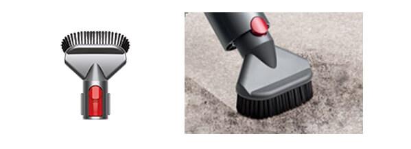 ダイソン掃除機のアタッチメント ハードブラシ