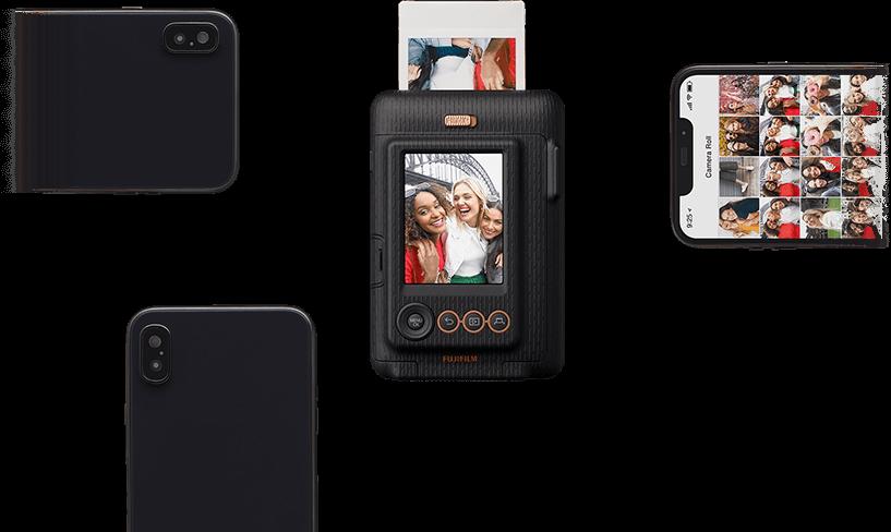 ついに録音機能!?「チェキ instax mini LiPlay」の特徴 スマホ連携で録音・写真の送信もできる