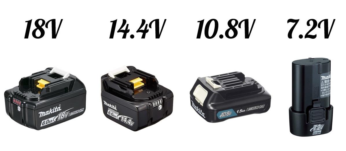 マキタシリーズの基礎知識 マキタ掃除機はバッテリーの種類でシリーズが分かれる