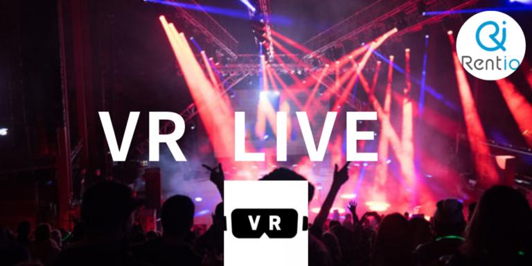 [最近話題]VRゴーグルで自宅に居ながら熱狂体験VRライブって何?