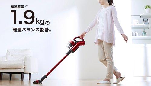 東芝コードレススティック掃除機を5つの選び方で比較 4. 重さを比較