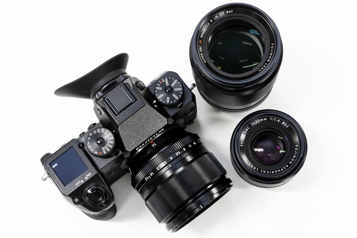 FUJIFILM X-H1 レンズ