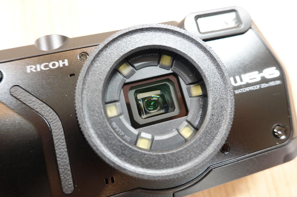 「RICOH WG-6」の特徴 2. 静止画・動画どちらも高画質