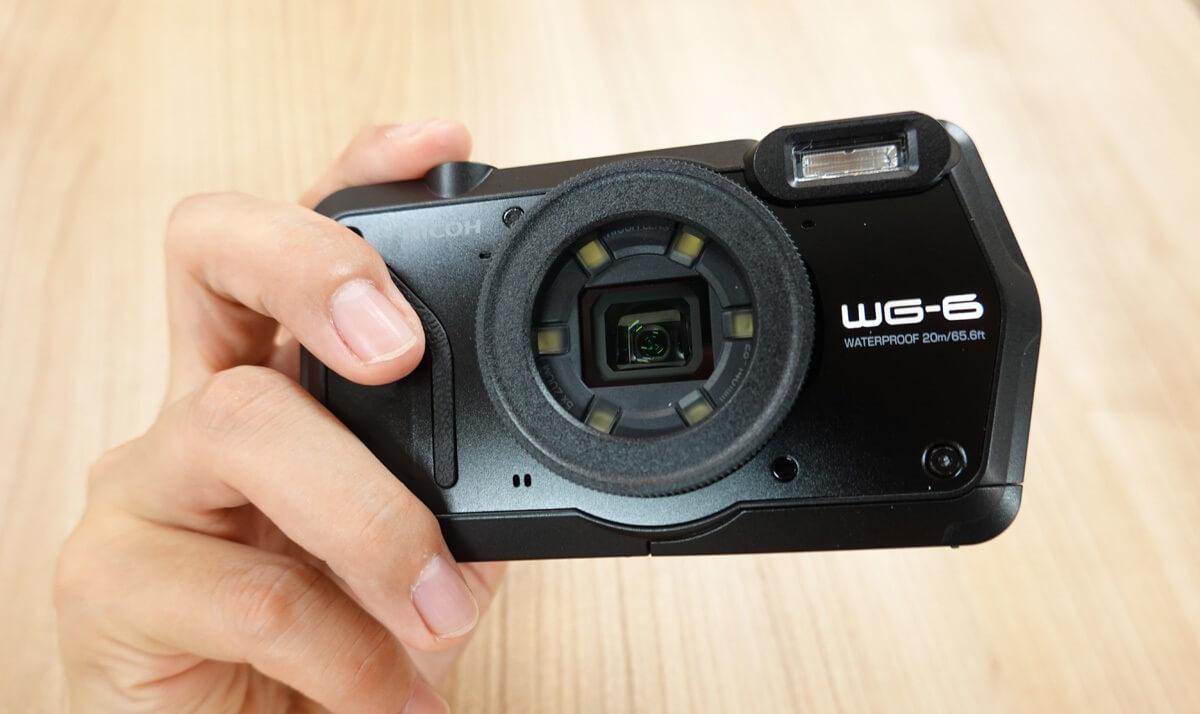 リコーの防水カメラ「RICOH WG-6」レビュー!海・山・川で活躍する高画質カメラ