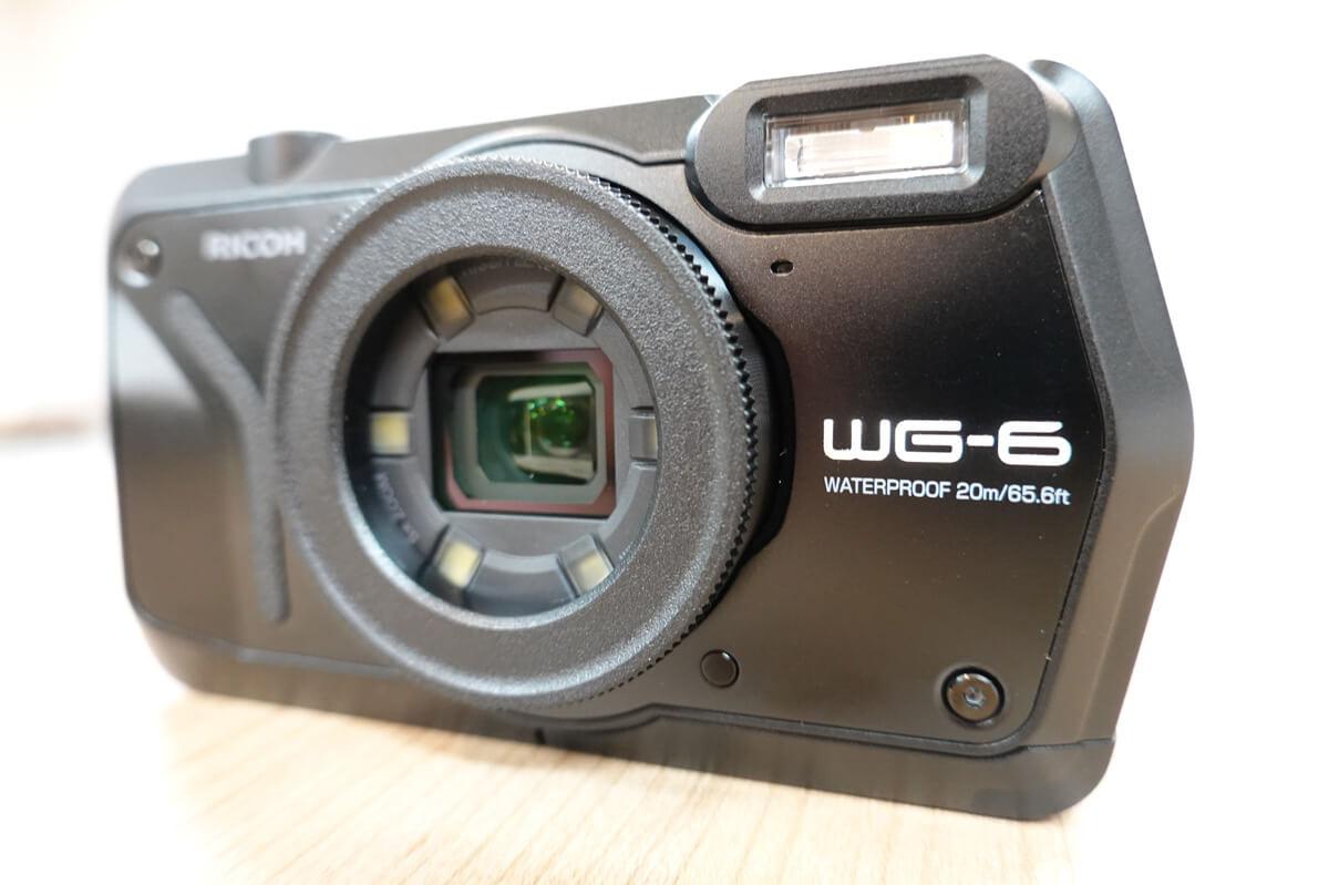 RICOH WG6,WG60,WG50の違いを比較 1. タフ性能はWG-6が高い
