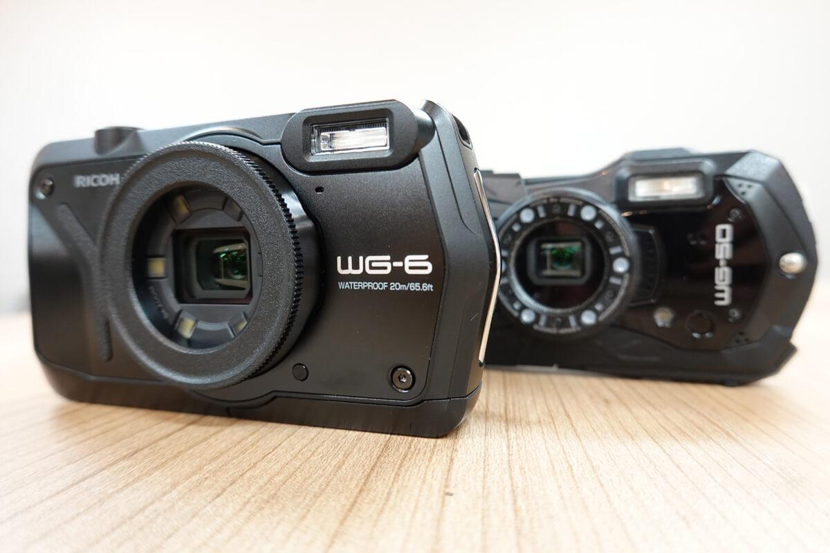 リコーの防水カメラRICOH WG6,WG70,WG60,WG50の違いを比較!機能・価格で優れているのは?