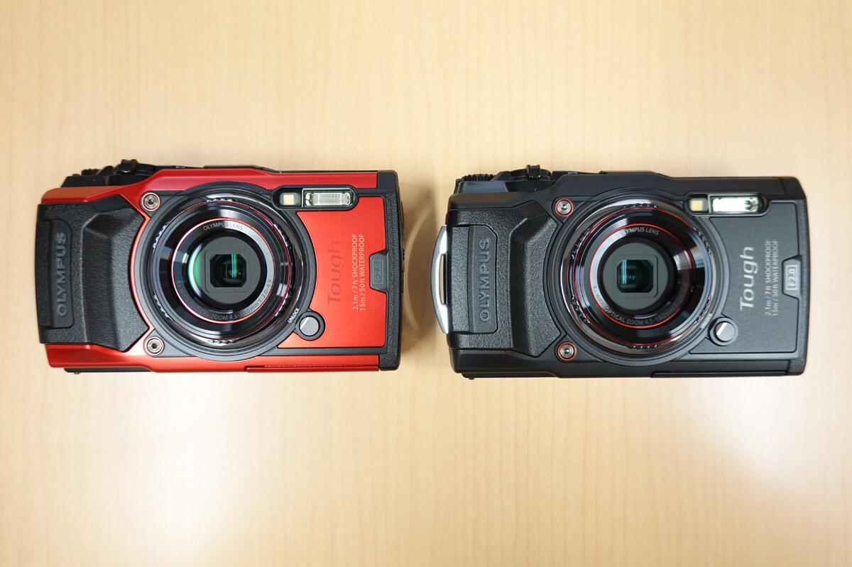 OLYMPUS「Tough TG-6」使用レビュー カメラ本体の表面